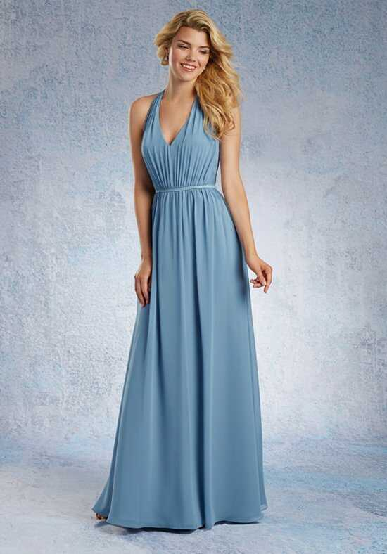 Alfred Angelo Signature Bridesmaids Collection 7333L Halter Bridesmaid Dress