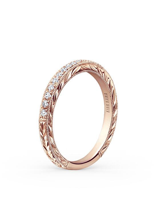 Kirk Kara Carmella Collection K1170DP-B Rose Gold Wedding Ring