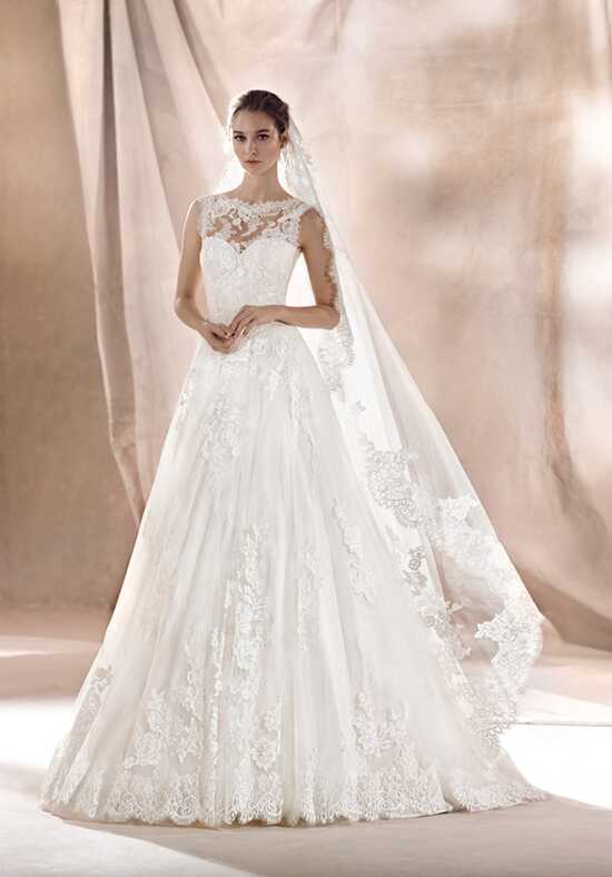 WHITE ONE SARA A-Line Wedding Dress