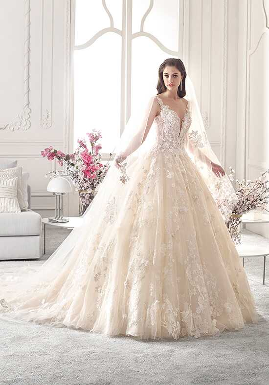 Demetrios 878 Ball Gown Wedding Dress