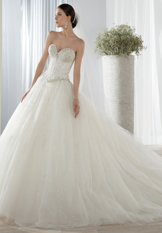 Demetrios 649 Ball Gown Wedding Dress