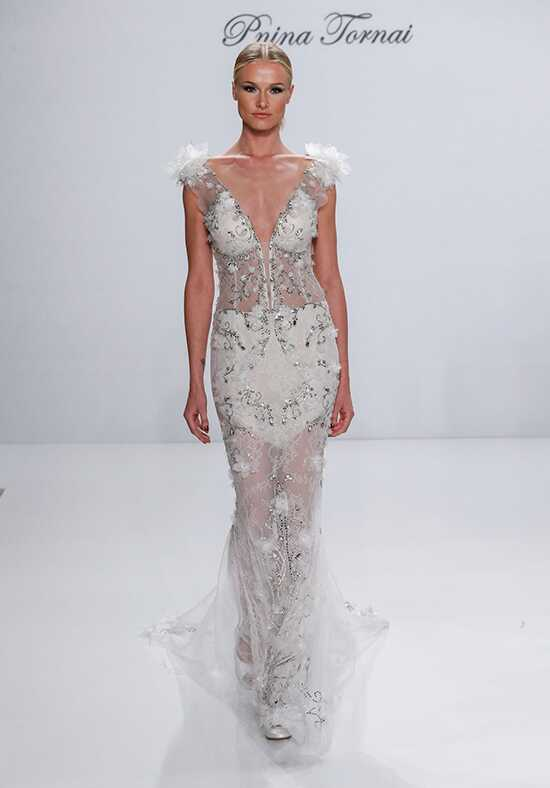 Pnina Tornai for Kleinfeld 4527 Sheath Wedding Dress