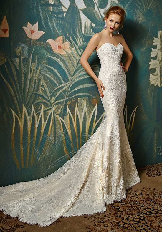 Blue by Enzoani Joelle Mermaid Wedding Dress