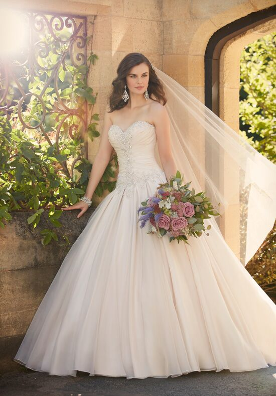 Essense of Australia D2031 Ball Gown Wedding Dress
