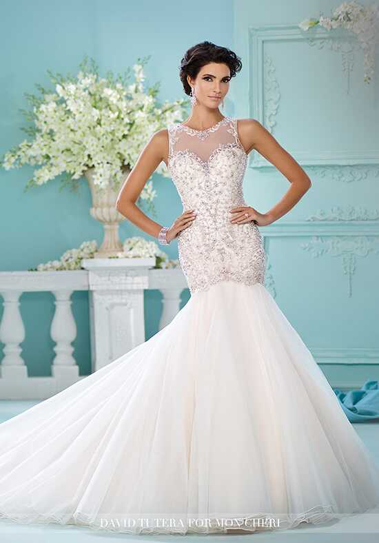 David Tutera for Mon Cheri 216240 Neela Mermaid Wedding Dress