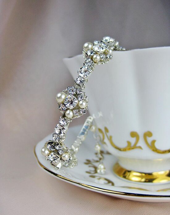 Everything Angelic Astrid Cuff / Bangle - b186 Wedding Bracelet photo