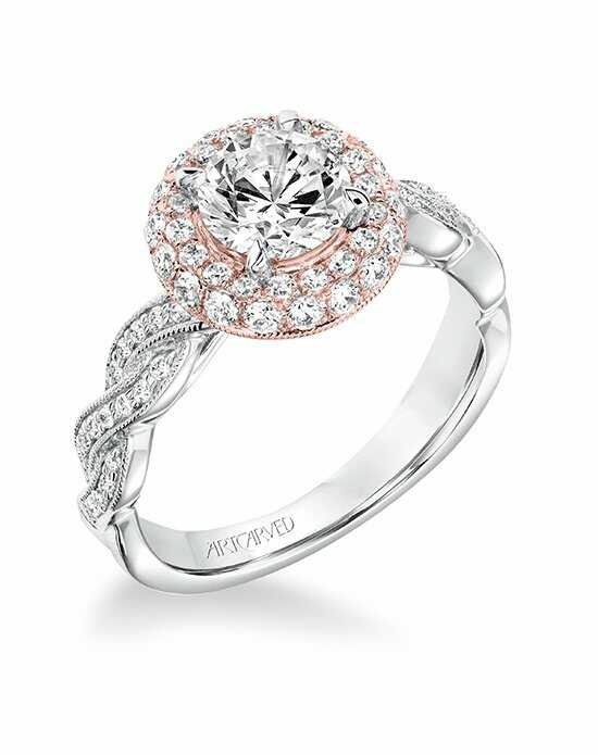 ArtCarved 31-V651ERR-E Engagement Ring photo