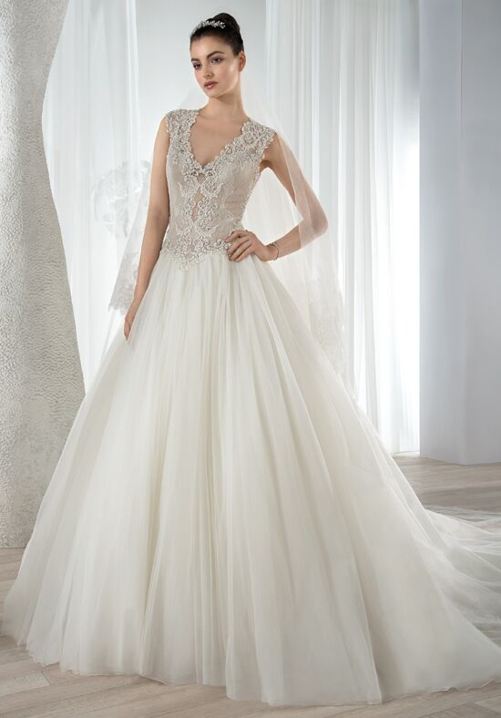 Demetrios 630 Ball Gown Wedding Dress