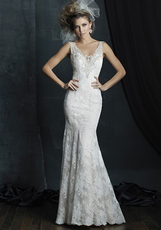 Allure Couture C381 Sheath Wedding Dress