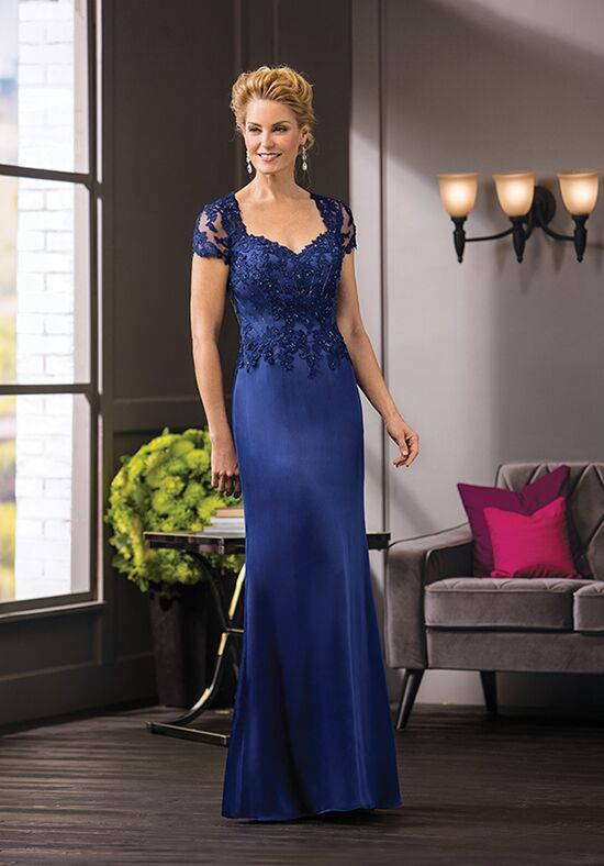 Jade Couture K188055 Blue Mother Of The Bride Dress
