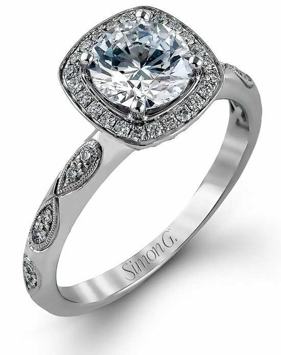Simon G. Jewelry MR1871-A Engagement Ring photo