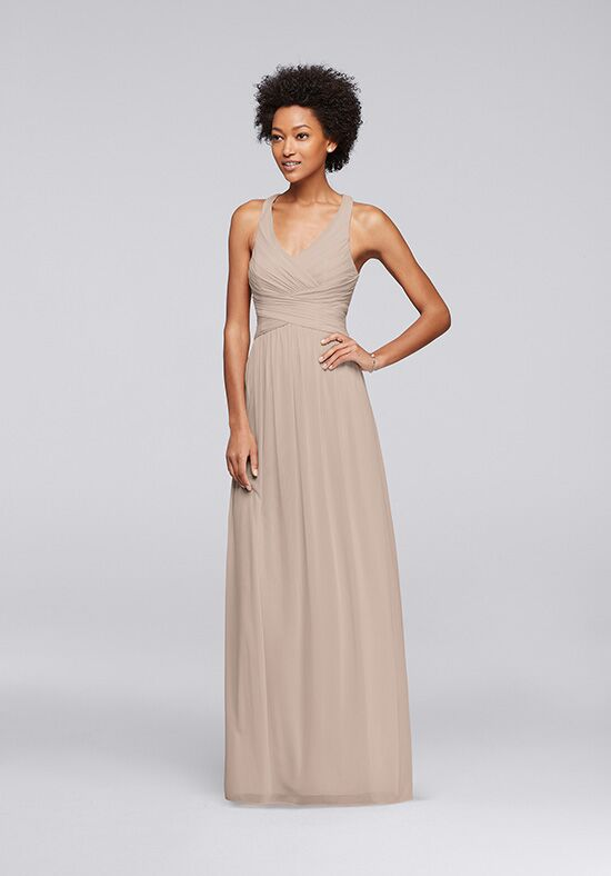 David's Bridal Collection David's Bridal Style W10974 V-Neck Bridesmaid Dress