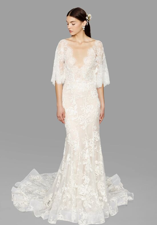 Marchesa essence wedding dress the knot marchesa essence sheath wedding dress junglespirit Images