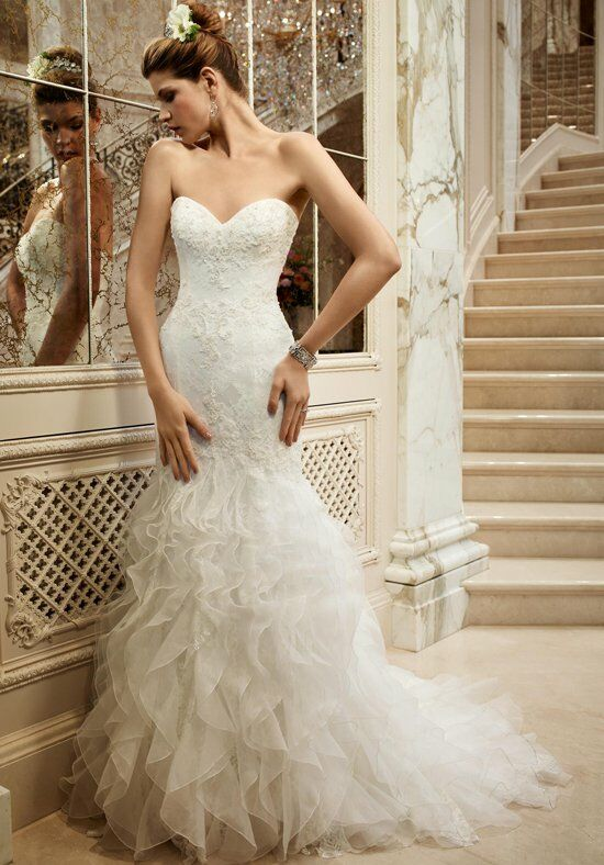 Casablanca Bridal 2096 Mermaid Wedding Dress