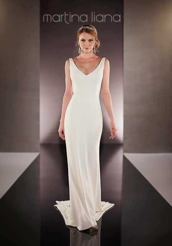 Martina Liana 685 Sheath Wedding Dress