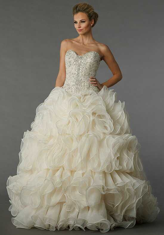 Danielle caprese for kleinfeld wedding dresses for Kleinfeld wedding dresses sale