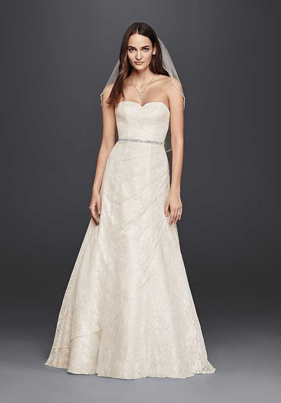 David's Bridal David's Bridal Collection Style WG3805 A-Line Wedding Dress