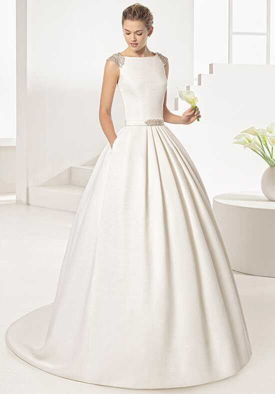 Two by Rosa Clará Orgul Ball Gown Wedding Dress
