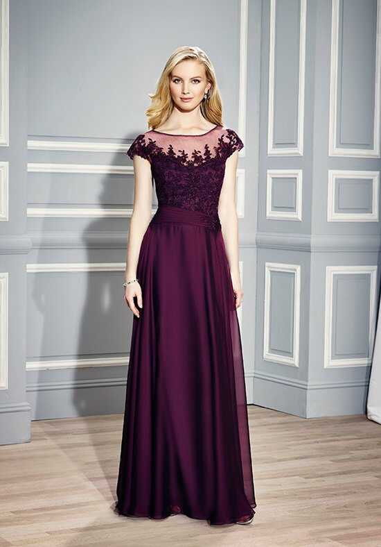 Val Stefani Celebrations MB7446 Purple Mother Of The Bride Dress