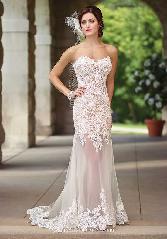 Enchanting by Mon Cheri 117197 Sheath Wedding Dress