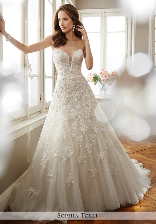 Sophia Tolli Y11725 Antoinette A-Line Wedding Dress