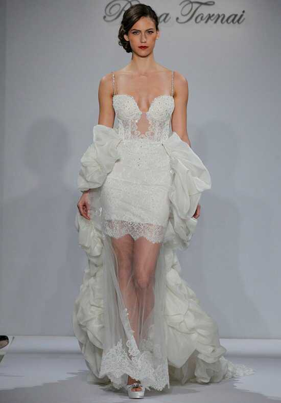 Pnina Tornai for Kleinfeld 4342 Sheath Wedding Dress