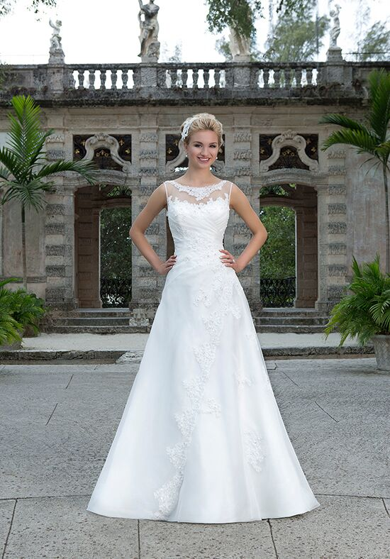 Sincerity Bridal 3884 A-Line Wedding Dress