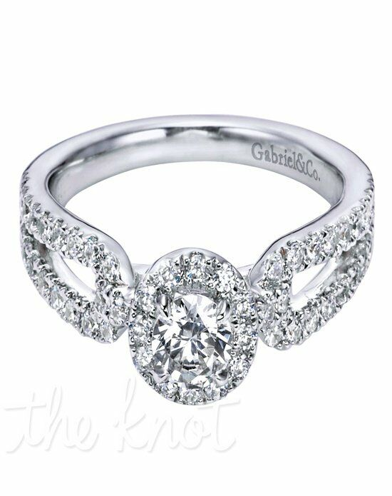 Adore by Gabriel & Co. W-ER6098D4 White Gold Wedding Ring