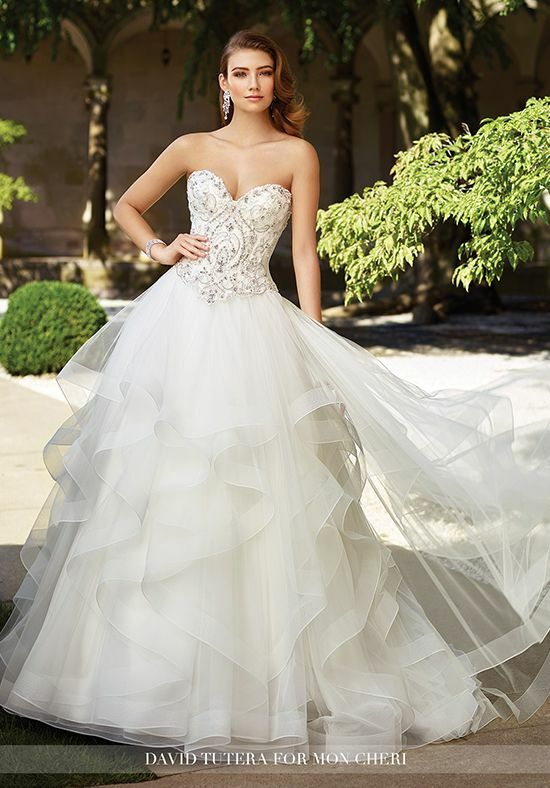 Martin Thornburg a Mon Cheri Collection 117289 Charity Ball Gown Wedding Dress
