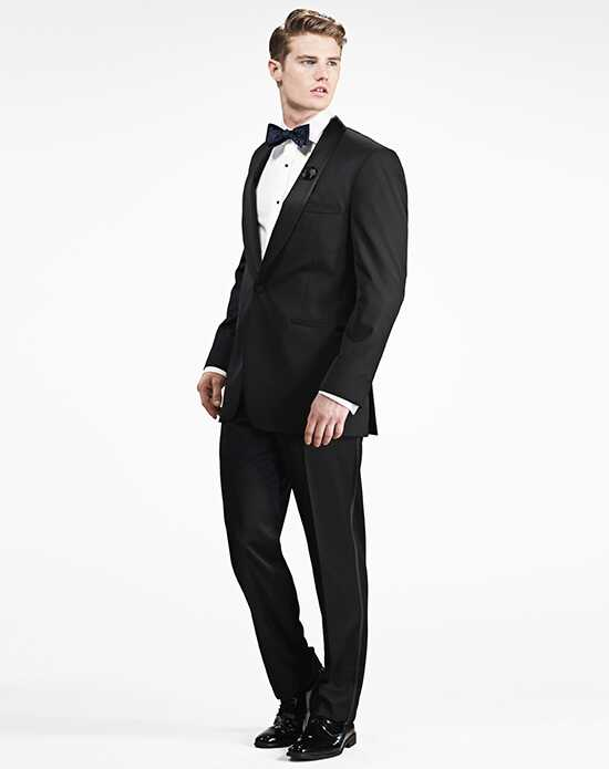 Generation Tux Black Shawl Lapel Tux Black Tuxedo