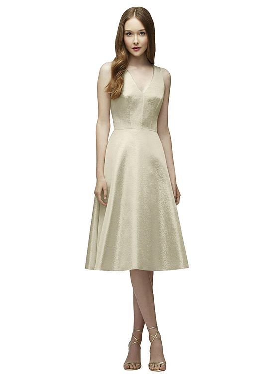 Lela Rose Bridesmaids LR230 V-Neck Bridesmaid Dress