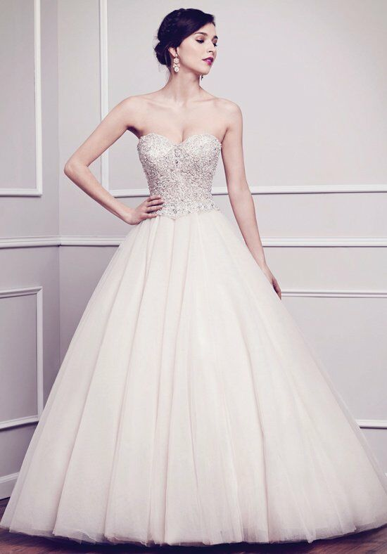 Kenneth Winston 1585 Ball Gown Wedding Dress