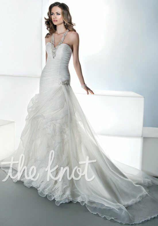 Demetrios 3188 Mermaid Wedding Dress