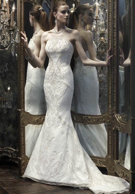 Amaré Couture B066 Mermaid Wedding Dress