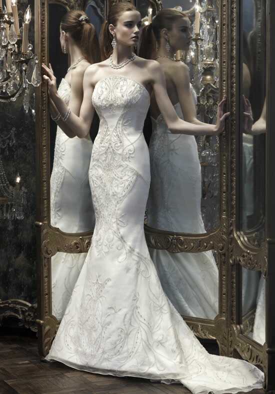 Amaré Couture by Crystal Richard B066 Mermaid Wedding Dress