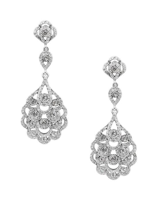 Nina Bridal Wedding Jewelry Eiffel Wedding Earring photo
