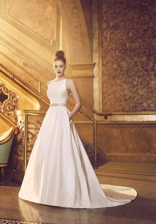 Paloma Blanca 4719 A-Line Wedding Dress