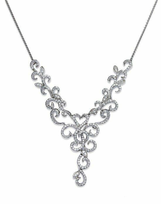 macy 39 s fine jewelry diamond necklace 14k white gold