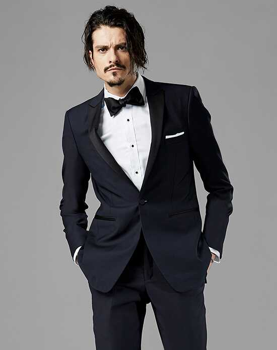Peak Lapel Wedding Tuxedos + Suits
