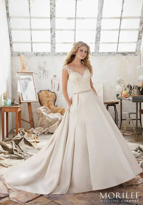 Morilee by Madeline Gardner Maclaine/8103 A-Line Wedding Dress