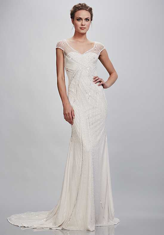 THEIA Viviana Sheath Wedding Dress