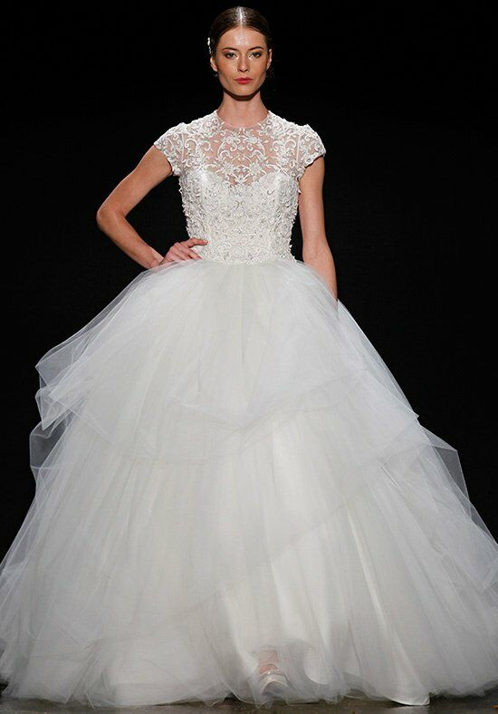 Lazaro 3407 Ball Gown Wedding Dress