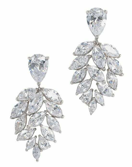 Anna Bellagio Fionna Cluster Drop Earrings Wedding Earring photo