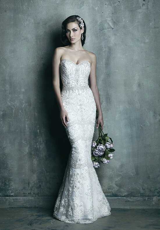Allure Couture C288 Sheath Wedding Dress
