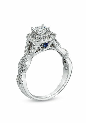 Vera Wang LOVE at Zales Vera Wang LOVE Collection 1 CT TW