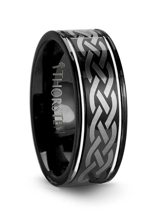 Mens Tungsten Wedding Bands W245-BLE4 Tungsten Wedding Ring