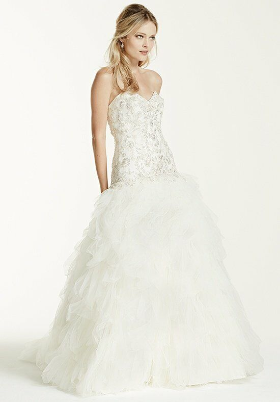 David's Bridal David's Bridal Collection Style V3665 Ball Gown Wedding Dress