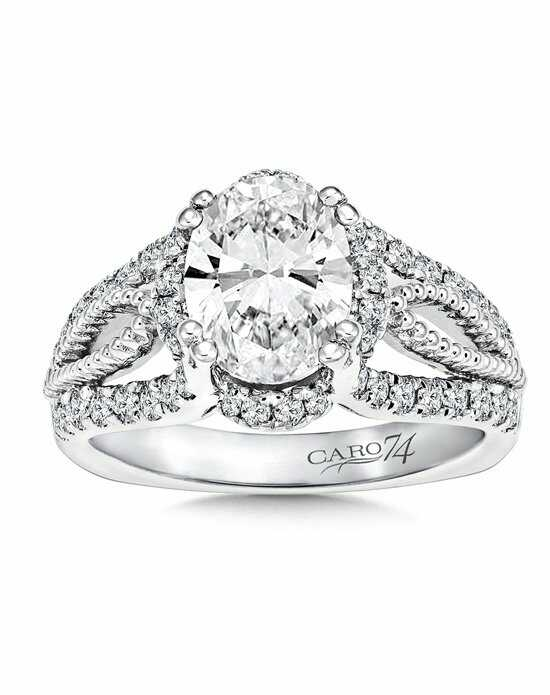 Caro 74 Oval Cut Engagement Ring