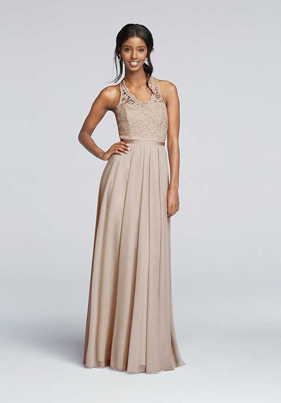 David's Bridal Collection David's Bridal Style F19025 V-Neck Bridesmaid Dress
