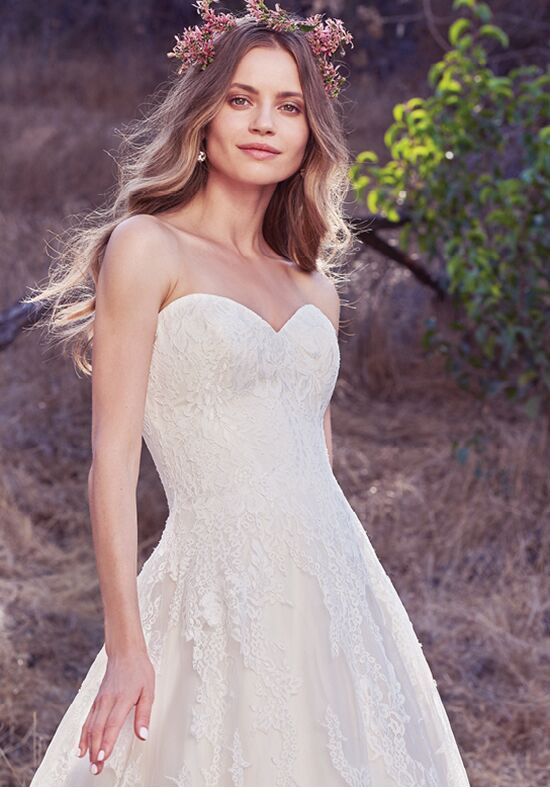 Maggie Sottero Olea A-Line Wedding Dress